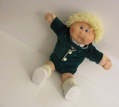Vintage 1986 Cabbage Patch Kid Doll by SandyLeesAttic on Etsy, $18.95 30% off Everything in my store from now until Christmas. Use coupon code: ItsB4Chrstmas.
