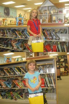 Charlie and Leah are happy to be our McDonald's Reading Challenge winners, taking home their prizes!