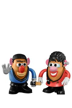 Star Trek Spock and Uhura Mr. Potato Head Collectors Set by Mr. Potato Head on @HauteLook