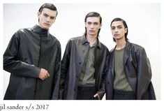 """We all have in mind the """"less is more"""" while thinking about the aesthetic of Jil Sander , as a brand and not only. Rodolfo Paglialunga d. Cut Clothes, Jil Sander, Shades Of Grey, Sportswear, Fashion Photography, Raincoat, Bomber Jacket, Menswear, How To Wear"""