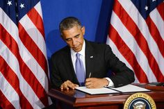 Obama Signs Executive Order Closing Congress - The New Yorker