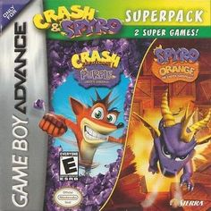 Crash & Spyro Superpack (Nintendo Game Boy Advance, 2005)