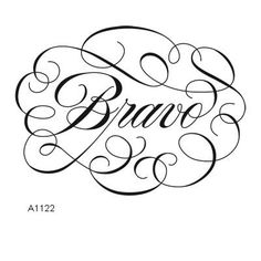 "Close to My Heart My Acrylix Stamp Set   Bravo  Set of 1  Recommended My Acrylix® Block:  3"" × 3"" (Y1006)    $6.95"