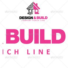 Design & Build Logo Template: Building Logo Design Template by sixthlife. Building Logo, Building Design, Business Logo Design, Brand Identity Design, Logo Design Template, Logo Templates, Roofing Logo, Logos Ideas, Construction Logo