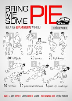 Bring Me Some Pie Workout