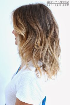 Box No. 216:light ash(ish) brown and beachy blonde highlights
