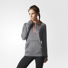 adidas Ultimate Pullover Hoodie - Grey | adidas US