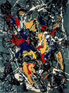 Amazing right? Number 3 by Jackson Pollock