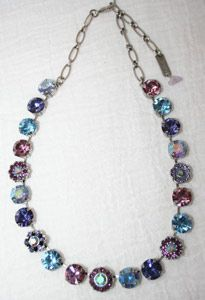 mariana+jewelry | Mariana Crystal Necklace, Israeli Jewelry