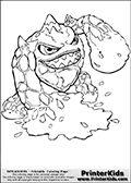 Skylanders Trigger Happy Coloring Page! | Skylanders ...