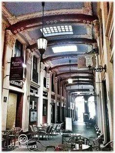 Pasaje ciclon, Zaragoza.
