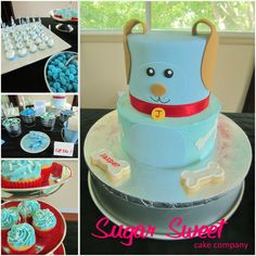 7 Best Lettys Baby Shower Ideas Images Puppy Party Pastries