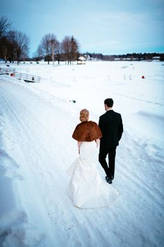 Stunning Winter Wedding Locations | Canada