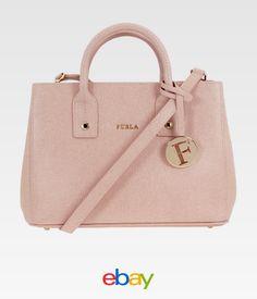 Furla Linda Las Small Saffiano Leather Tote Handbag 851066