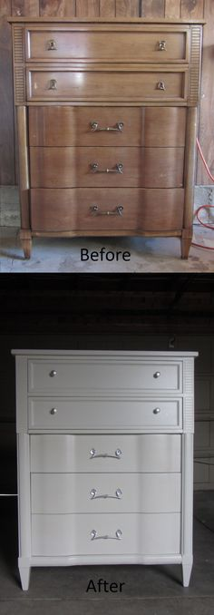 Refinished furniture by Kelly's Creations.  http://www.facebook.com/pages/Kellys-Creations/524028237619793