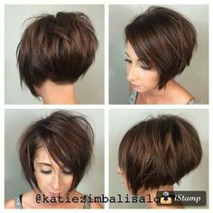 Cute Short Bob Haircuts for Women 2019 Cute Short Bob Haircuts for Women styles Short Sassy Bob Haircuts beauty inspiration for thin hair bob haircuts bob hairstyles Bob Haircuts For Women, Short Bob Haircuts, Stacked Bob Hairstyles, Cool Hairstyles, Newest Hairstyles, Great Hair, Fine Hair, Short Hair Cuts, Short Sassy Hair