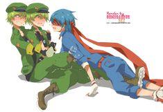 Happy Tree Friends Flippy, Happy Friends, Htf Anime, Anime Art, Yandere Boy, Kawaii Potato, Funny Spongebob Memes, Persona 5 Joker, Friend Anime