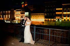 Opolska Wenecja inne ujęcie na sesji ślubnej