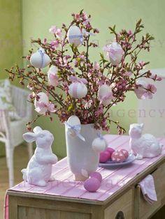 Ostern in Pastellfarben
