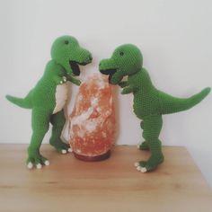 They two dinosaur are done. Only the teeth are missing. #crochet  #crocheting #crochetingisfun #amigurumi #crochetaddict #sandyswonderland #handmade #handgemacht #fattodame #selfmade #madebyme #häkeln #häkelnmachtspass #uncinetto #uncinettocreazione #uncinettomania #häkelnisttoll #häkelnfetzt #häkelnmachtglücklich #instacrochet #dentiaguzzi #dentiaguzziproject #project #dino #dinosaur #dinosauro #dinosaurier by sandys.wonderland