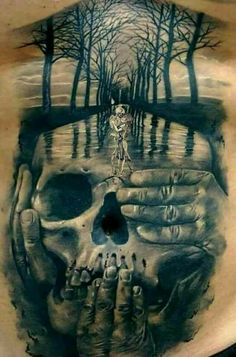 Tattoo ideen Skull Tattoo Ideas and much more on our site. Skull Tattoo Ideas and much more on our site. Evil Skull Tattoo, Skull Tattoo Design, Skull Tattoos, Body Art Tattoos, Sleeve Tattoos, Grim Reaper Tattoo, Kunst Tattoos, Bild Tattoos, Tattoo Drawings