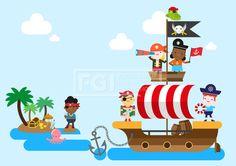 ILL148, 5월이벤트데이, 5월, 이벤트데이, 이벤트, 에프지아이, 벡터, 사람, 생활, 라이프, 캐릭터, 남자, 여자, 어린이날, 소년, 소녀, 어린이, 친구, 단체, 웃음, 쾌활, 행복, 해적, 보물, 교통, 배, 선박, 바다, 해적선, 앵무새, 망원경, 보물지도, 깃발, 야자수, 문어, 오크통, 구름, 나무, 서있는, 모자, 일러스트, illust, illustration #유토이미지 #프리진 #utoimage #freegine 19890854