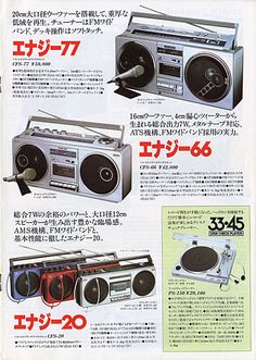 ratscats web page/ソニー-ラジカセ-昭和57年02月