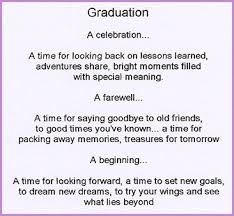 Image Result For 5th Grade Graduation Poem From Teacher High