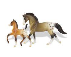 Appaloosa Horse and Foal Set