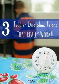 Toddler Discipline Tricks That Don't Involve Spanking- these are good ideas for .-- Toddler Discipline Tricks That Don't Involve Spanking- these are good ideas for the smaller everyday tantrums, and save spanking for the real bad stuff. Toddler Fun, Toddler Preschool, Toddler Activities, Toddler Stuff, Family Activities, Montessori Toddler, Montessori Activities, Toddler Behavior, Toddler Discipline