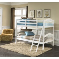 Found it at Wayfair - Long Horn Twin Bunk Bed