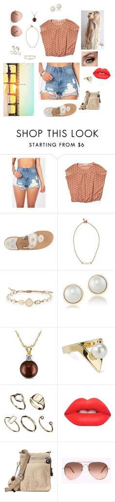 """""""Riley's Style 10"""" by simplyvanner ❤ liked on Polyvore featuring LOFT, Jack Rogers, Lead, Tai, Carolee, Allurez, ASOS, Lime Crime and Kipling"""
