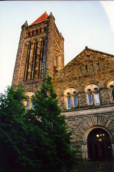Altgeld Hall is considered one of the finest examples of Richardsonian Romanesque architecture.