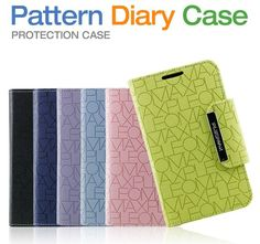 Pleomax Samsung Pattern diary case for Galaxy Note 2 N7100 $8.99