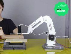 Meet Dobot  4-axis parallel-mechanism #robotarm designed for your desktop! #robotics