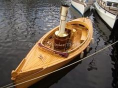 Classic Wooden Boat Plans » Fantail Launch 23
