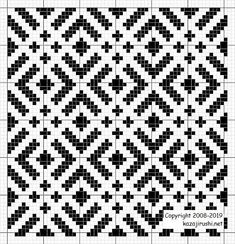 Tapestry Crochet Patterns, Weaving Patterns, Mosaic Patterns, Embroidery Patterns, Stitch Patterns, Cross Stitch Geometric, Cross Stitch Bird, Cross Stitching, Crochet Diagram