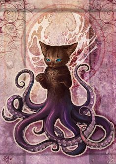 Octocat. I don't think this is from anything...but it's too dang cute