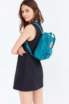 Shop Fjallraven Kanken Mini Classic Backpack at Urban Outfitters today. We carry all the latest styles, colors and brands for you to choose from right here. Fjallraven Kanken Mini, Kanken Backpack, Ballet Bag, Mini Backpack, Looks Style, Passion For Fashion, Urban Outfitters, Cute Outfits, Backpacks