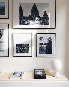 #IKEAPS2017 Ikea PS - Besta - photo wall - white living - stromby - frames