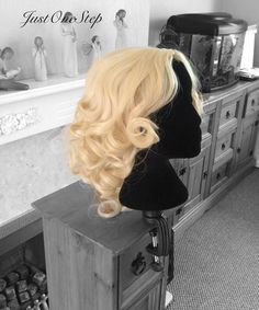 Live Action FAIRY GODMOTHER WIG Cinderella 2015 by JustOneStep