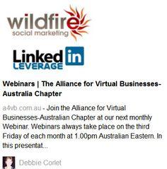 Virtual Business Webinar in Australia