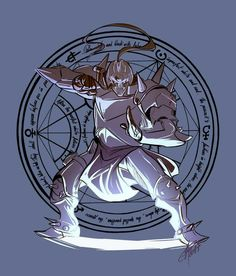 Alphonse Elric - younger brother of Edward Elric Fullmetal Alchemist