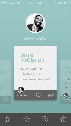 Screendesign by Javier Crocco Mendez Mobile Web Design, App Ui Design, User Interface Design, Card Ui, Ui Patterns, Ipad, Mobile App Ui, Ui Design Inspiration, Ui Web