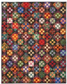 Nine Patch Play Quilt Pattern | Keepsake Quilting
