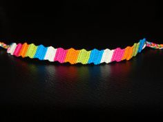 How to Make a Zigzag Bracelet