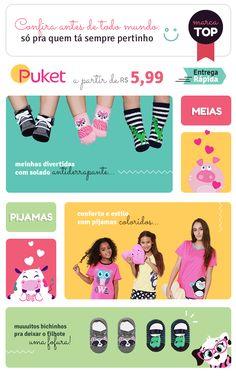 E-mail da marca Puket Hilarious