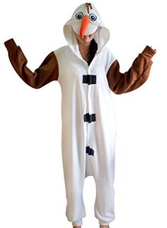 Amour - Sleepsuit Pajamas Costume Cosplay Homewear Lounge Wear (S, olaf) Amour http://www.amazon.com/dp/B00N7DETD6/ref=cm_sw_r_pi_dp_dGWpub1GKDS75