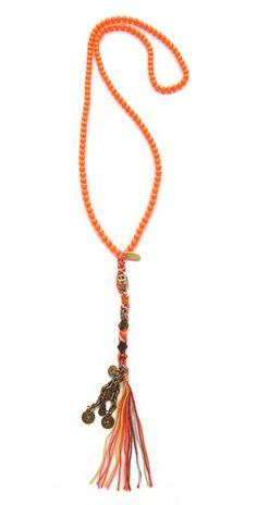 Chan Luu Rosary Charm Necklace