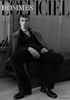 Clément Chabernaud shot by Olgac Bozalp for L'Officiel Hommes Turkey Winter 2015 Coverstory.